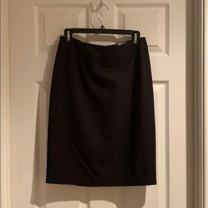 Calvin Klein Pencil Skirt - Black